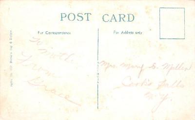 mth000001 - Mothers Day Old Vintage Postcard Post Card  back