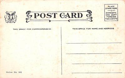 mth000011 - Mothers Day Old Vintage Postcard Post Card  back