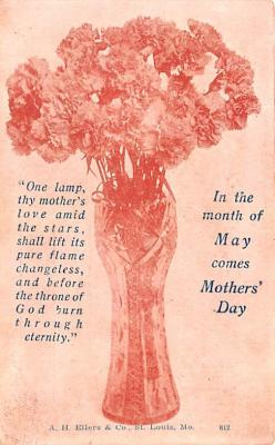 mth000055 - Mothers Day Old Vintage Postcard Post Card
