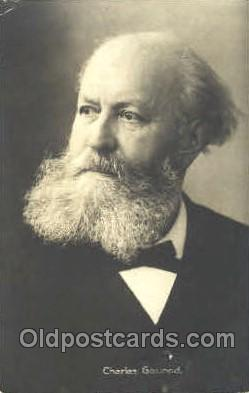 mus001014 - Charles Gounod Music, Musician, Composer, Postcard Postcards