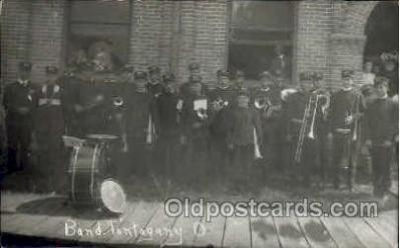 mus001046 - Band Tonogany Music, Musician, Composer, Postcard Postcards