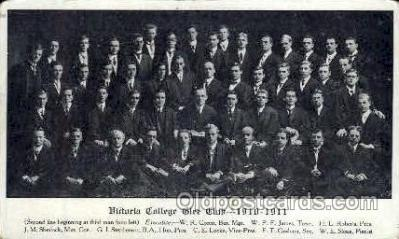 Victoria College Glee Club