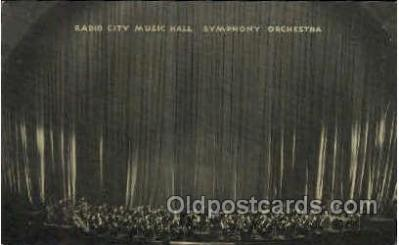 Radio City Music Hall, New York City, NY USA