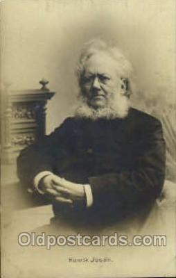 mus001090 - Henrik Jbsen Music, Musician, Composer, Postcard Postcards