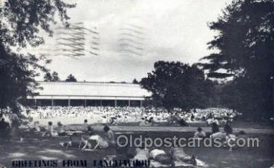 mus002081 - Tanglewood, Lenox Mass, USA Music, Musical Instrument Post Cards Postcards