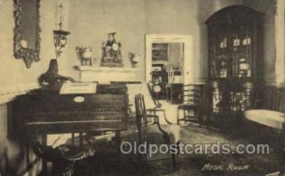 mus002156 - Music Room  Postcard Post Cards Old Vintage Antique