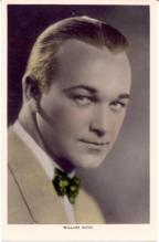 mov002031F - William Boyd Actor / Actress Postcard Post Card Old Vintage Antique