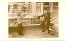 mov009005 - Al Jolson & Davey Lee Actor / Actress Postcard Post Card Old Vintage Antique Movie Star