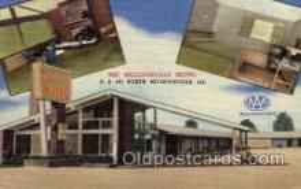 MTL001013 - Milledgeville Motel, Milledgeville, GA Hotel, Motel Postcard Postcards