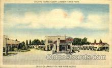 MTL001014 - Booth's Tourist Court, Longview, TX Hotel, Motel Postcard Postcards