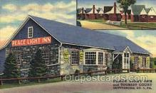 MTL001024 - Peace Light Inn & Tourist Court Gettysburg, PA, USA Postcard Post Cards Old Vintage Antique