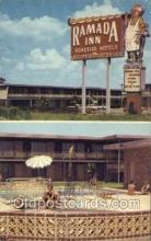 MTL001028 - The Ramada Inn Lake Charles, Louisiana USA Motel Hotel Postcard Postcards