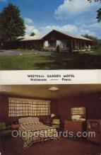 MTL001031 - Westfall Garden Motel, Matamorus Penn. USA USA Motel Hotel Postcard Postcards