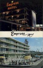 MTL001033 - Empress Motel, Asbury Park, N.J. USA Motel Hotel Postcard Postcards