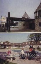 MTL001036 - King's Inn, Arlington, Texas, USA Motel Hotel Postcard Postcards
