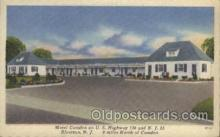 MTL001059 - Motel Camden, Riverton, New Jersey USA Motel Hotel Postcard Postcards