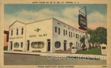 MTL001074 - Hotel Plams, St.George, South Carolina, S.C., USA Motel Hotel Postcard Postcards