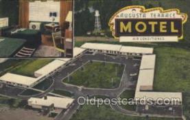 MTL001076 - Augusta Terrace Motel, Augusta, GA, USA Motel Hotel Postcard Postcards