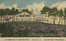 MTL001083 - Governor Tyler Hotel, Radford, Virginia, USA Motel Hotel Postcard Postcards