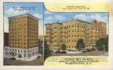 MTL001101 - The Hotel Grafton, Washington DC, USA Motel Hotel Postcard Postcards