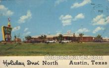 MTL001104 - Holiday Inn , Austin, Texas, USA Motel Hotel Postcard Postcards