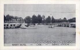 MTL001106 - Mabry Motel, Vandalia, Illinois, ILL.  USA Motel Hotel Postcard Postcards