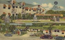 MTL001112 - Lady Lafayette Waterboro, South Carolina, USA Motel Hotel Postcard Postcards