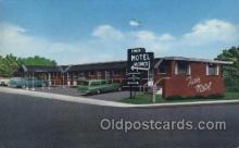 MTL001121 - Twin Motel, Portsmouth, Ohio, USA Motel Hotel Postcard Postcards