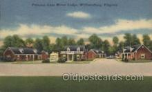 MTL001144 - Princess Anne Motor Lodge, Williamsburg, Virginia, USA Motel Hotel Postcard Postcards
