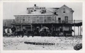 MTL001151 - Hotel Shaniko Motel Shaniko, Oregon, USA Hotel Postcard Postcards