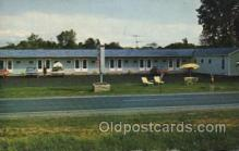 MTL001171 - Russells Blue, Ogdensburg, New York, USA Motel Hotel Postcard Postcards