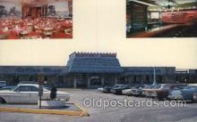 MTL001188 - Harcest House Restaurant, Penna, USA Motel Hotel Postcard Postcards