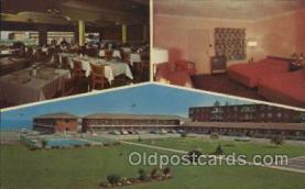 MTL001189 - Westpoint Motor Hotel, Lake Ontario, Toronto, Canada Motel Hotel Postcard Postcards