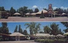 MTL001190 - Chieftain Tourist Village, Ogallala, Nebraska, USA Motel Hotel Postcard Postcards