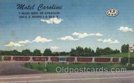 motel Caroline, S.Y., USA