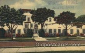 MTL001194 - Grande Hotel, Abilene, Texas, USA Motel Hotel Postcard Postcards