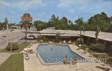 MTL001217 - Rainbow Lodge, St. Petersburg, Florida, USA Motel Hotel Postcard Postcards