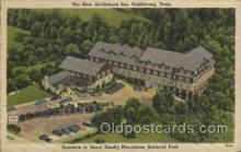 MTL001228 - The new Gatlinburg Inn, Catlinburg, Tenn, USA Motel Hotel Postcard Postcards