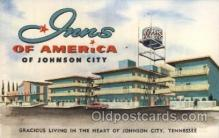 MTL001229 - Inns of America, Johnson City, Tennessee, USA Motel Hotel Postcard Postcards