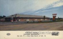 MTL001234 - Parkway Motel, Willmar, Minnesota, USA Motel Hotel Postcard Postcards