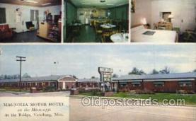 Magnolla Motor Hotel, Vicksburg, Miss, USA