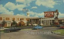 MTL001248 - Ramada Inn, Dallas, Texas, USA Motel Hotel Postcard Postcards