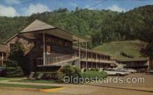 MTL001254 - Smokyland Motel, Gatinburg, Tennessee, USA Motel Hotel Postcard Postcards