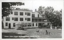 MTL001259 - Prince Albert Hotel on Tupper Lake, Moody, New York, USA Motel Hotel Postcard Postcards