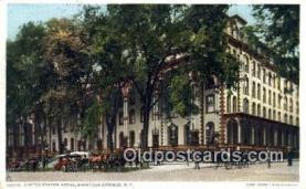United States Hotel, Saratoga Springs, NY, USA