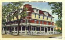 MTL001287 - Chadwick Hotel, Excelsior Springs, MO, USA Motel Hotel Postcard Post Card Old Vintage Antique