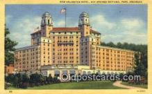MTL001288 - New Arlington Hotel, Hot Springs National Park, AR, USA Motel Hotel Postcard Post Card Old Vintage Antique