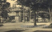 MTL001292 - The Tourist Inn, Deposit, NY, USA Motel Hotel Postcard Post Card Old Vintage Antique