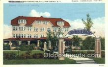 MTL001294 - Park Terrace Hotel, Sullivan County, NY, USA Motel Hotel Postcard Post Card Old Vintage Antique