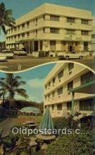 MTL001303 - James Hotel, Miami Beach, FL, USA Motel Hotel Postcard Post Card Old Vintage Antique